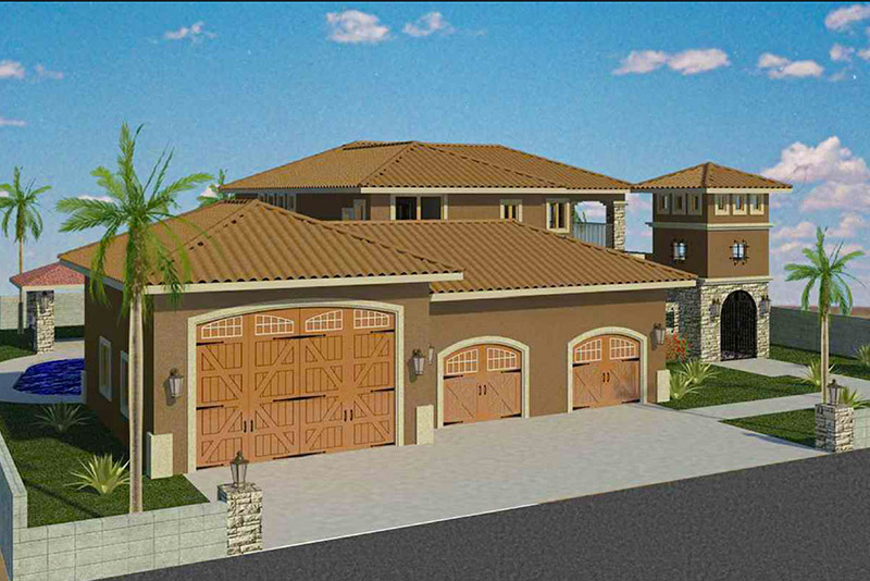 Mesquite Residence Elevation
