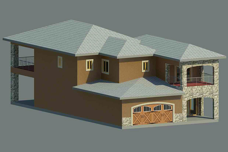 Pinion Residence Elevation