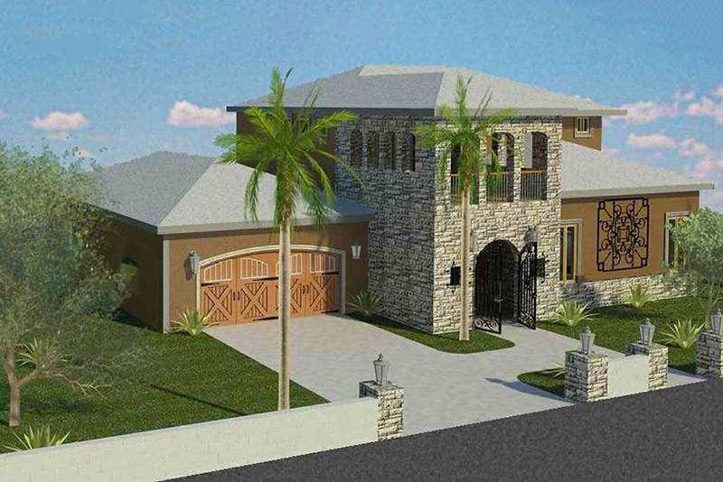 Saguaro Residence Elevation