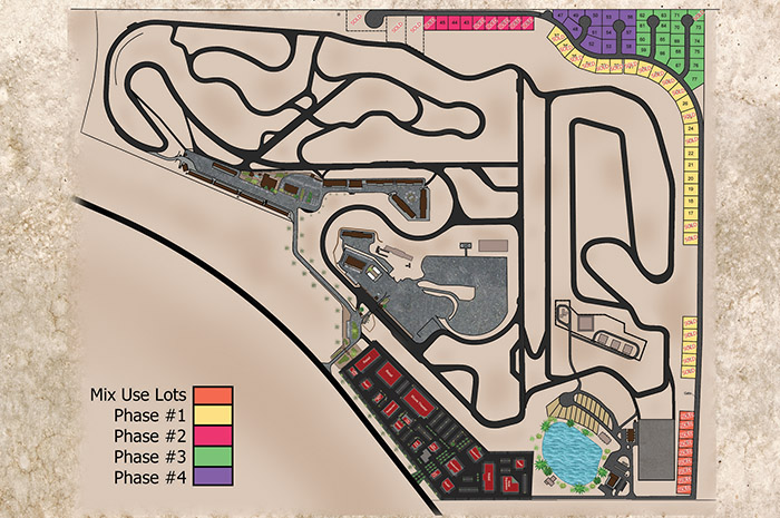 Map of Available Spring Mountain Estate Lots